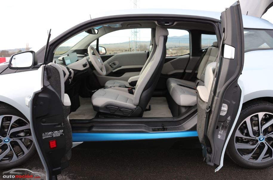 Puertas laterales BMW i3