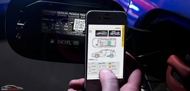 El código QR agiliza las labores de rescate en un accidente de tráfico