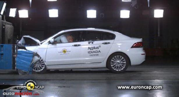 El Qoros 3 sedán es el coche más seguro del segmento C según Euro NCAP 2013