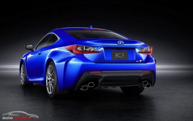 Se filtran las primeras imágenes del Lexus RC-F: ¿450 CV de potencia y 543 Nm de par?