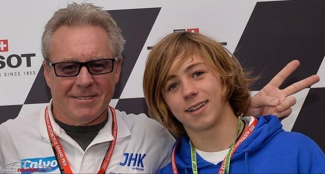 El hijo de Gardner aspira a debutar en Moto3 como wild card