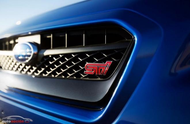 Todos los detalles del espectacular Subaru WRX STI 2015