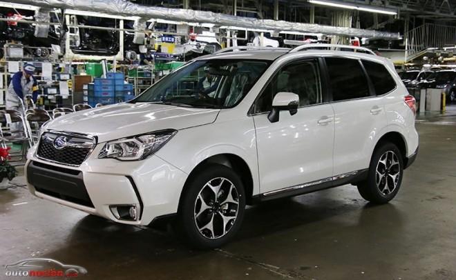 Subaru ha producido 20 millones de unidades en Japón desde 1958
