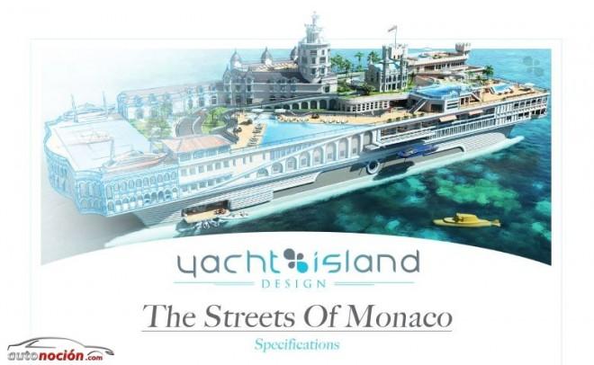 ¿El circuito de F1 de Mónaco para karts y en un Yate de lujo?