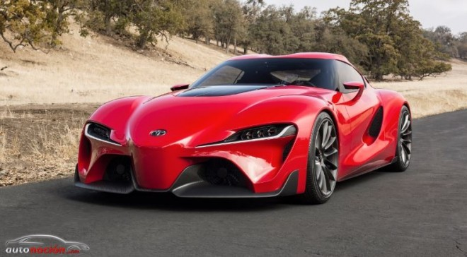 ¿Hablamos del sucesor del Supra?: Toyota presenta el FT-1 Concept