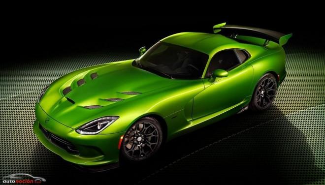 El Viper SRT recibe la pintura Stryker Green y el Paquete Grand Touring