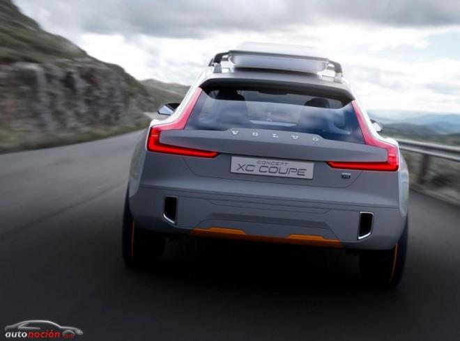Así será el futuro de los SUV: Volvo Concept XC Coupé