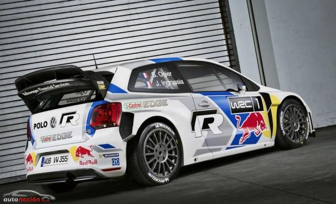 El Volkswagen Polo R WRC 2014: Pocos cambios pero muchos ánimos