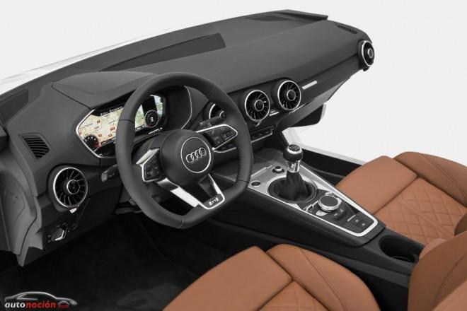 ¿Un interior centrado por completo en el conductor? Así es el Audi TT
