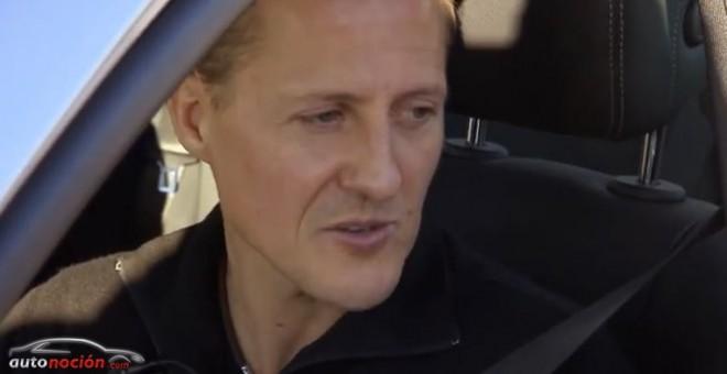 Michael Schumacher podría haber pestañeado y estar respondiendo a instrucciones simples