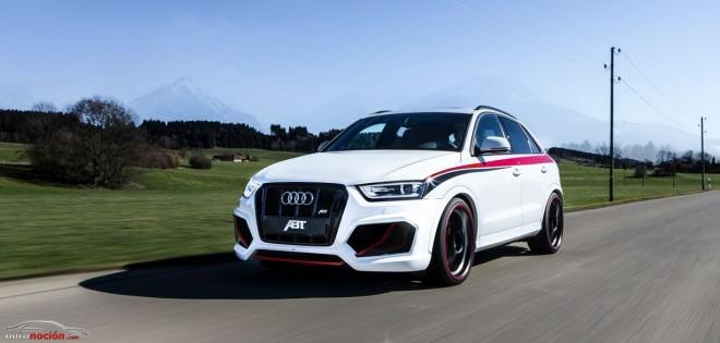 ABT exprime al máximo al Audi RS Q3 y le saca 410 cv