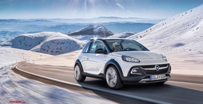 Opel ADAM ROCKS: Un mini-crossover cabrio muy chic que llegará tras el verano