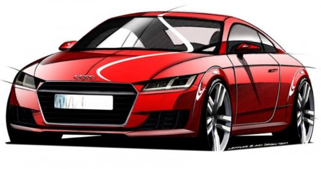 Los bocetos oficiales del nuevo Audi TT nos muestran la nueva línea del modelo
