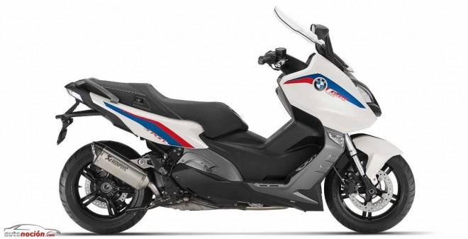 BMW presenta nuevos equipamientos para las maxiscooters C 600 Sport y C 650 GT