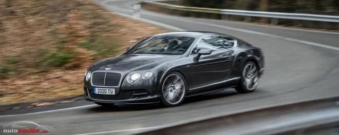 Bentley nos adelanta información sobre el Continental GT Speed y el Flying Spur V8