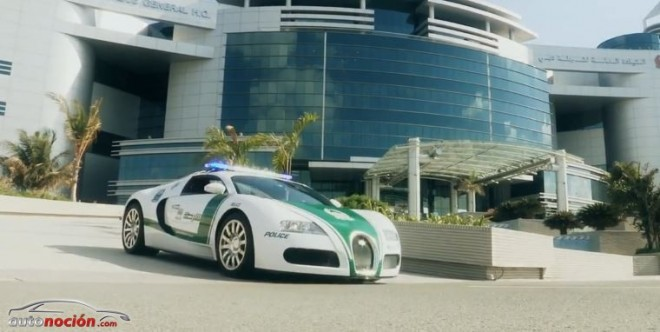 La Policía de Dubai incorpora un Bugatti Veyron a su flota