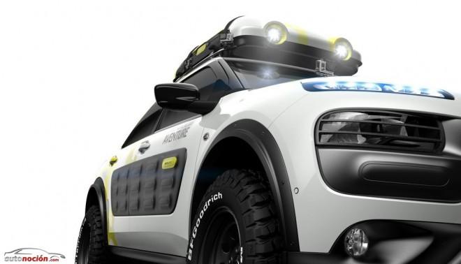 El Citroën C4 Cactus más aventurero: C4 Cactus Adventure Concept
