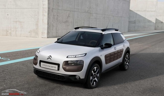 "Citroën celebra el aniversario del Cactus: Un Best Seller ""Made in Spain"""
