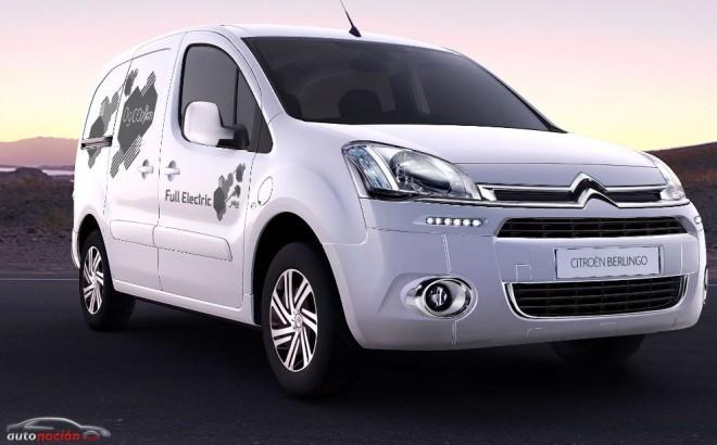 La furgoneta más popular de Citroën, ahora en su versión eléctrica