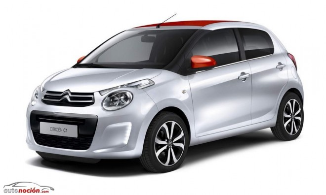 Así es el nuevo Citroën C1: Urbanita de los pies a la cabeza