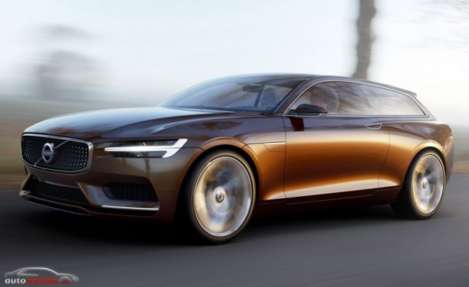 Volvo Concept Estate: El Shooting Brake moderno