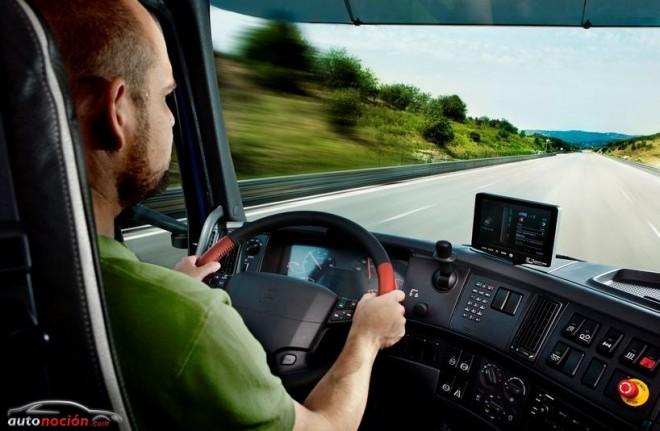La DGT efectúa 9.170 denuncias a transportistas en 7 días