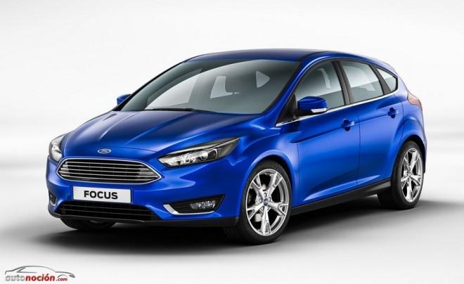 Se filtran las primeras imágenes del renovado Focus: ¿Simple facelift o nuevo modelo?