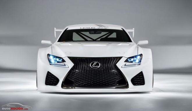 Lexus RC-F GT3 Concept: Más planes deportivos de Lexus…