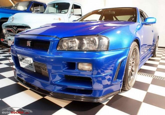 Sale a la venta el Nissan R34 Skyline GT- R del fallecido Paul Walker