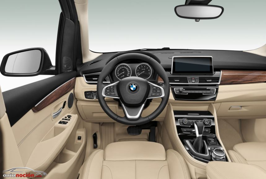 Interior BMW Serie2 Active Tourer