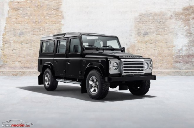 El Land Rover Defender estrena dos nuevos acabados que pondrán el punto y final: Black y Silver Pack