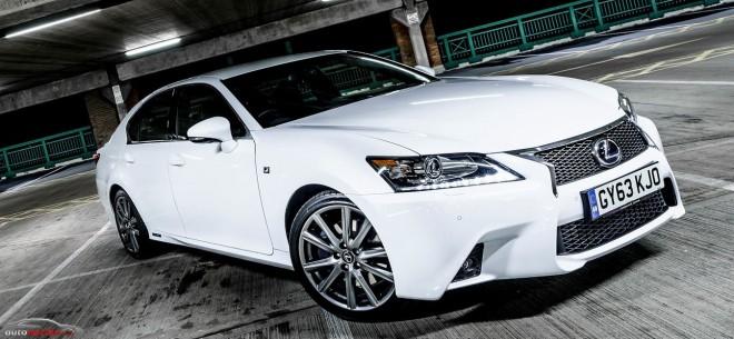 Lexus actualiza el GS 450H para el 2014