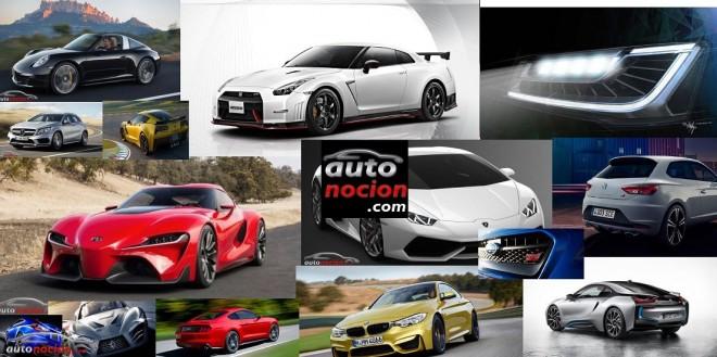 Algunos de los nuevos modelos que llegarán en 2014