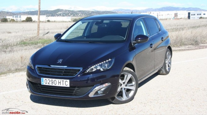 Prueba Nuevo Peugeot 308 Allure 1.6 e-HDi de 115 CV: El segmento C francés se hace premium