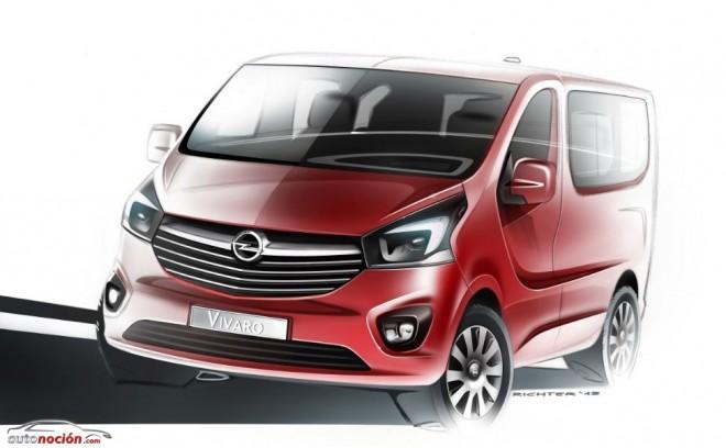Fresco, tecnológico, eficiente y atractivo: Así será el Opel Vivaro