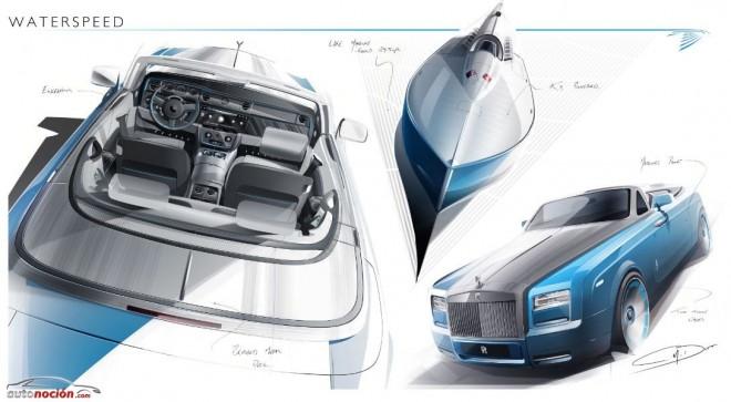 Rolls-Royce Phantom Drophead Coupé Bespoke Waterspeed: Lo náutico se lleva