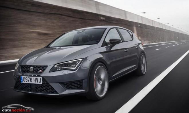 Más detalles e imágenes del SEAT León CUPRA: Desde 31.440 euros