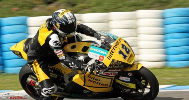 Segunda jornada de test para Moto2 en Jerez