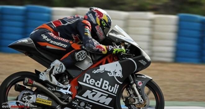Segunda jornada de test para Moto3 en Jerez