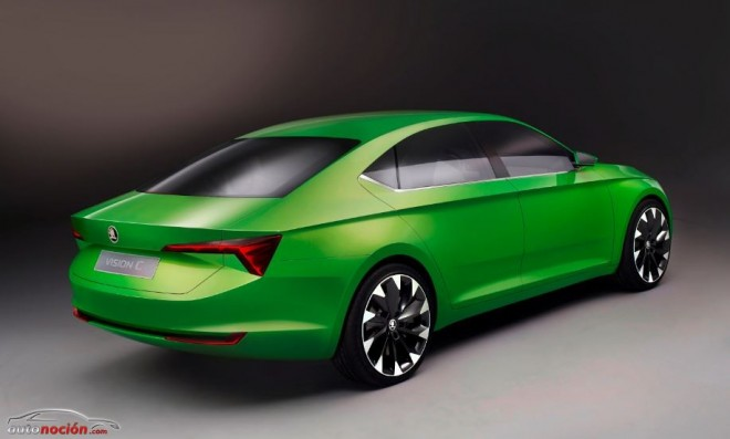 """Más detalles del Škoda VisionC: Un coupé de 5 puertas al más puro estilo """"Audi"""""""