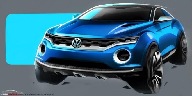 Volkswagen nos muestra el prototipo T-ROC: Las futuras líneas SUV de la marca