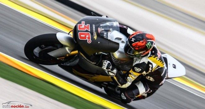 Primer Test de Moto2 en Valencia