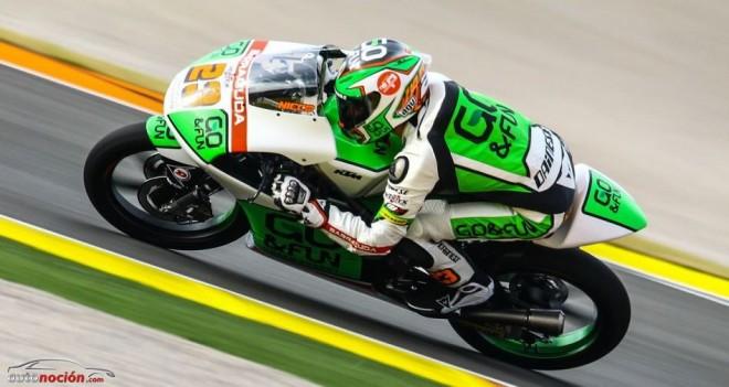 Primer Test de Moto3 en Valencia