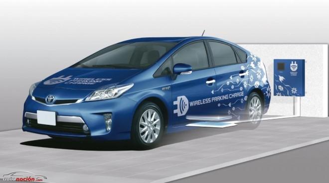 Toyota investiga la carga de los vehículos eléctricos sin cables