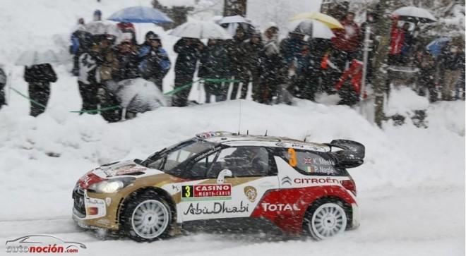 Tres pilotos del WRC se estrenan este fin de semana sobre la nieve
