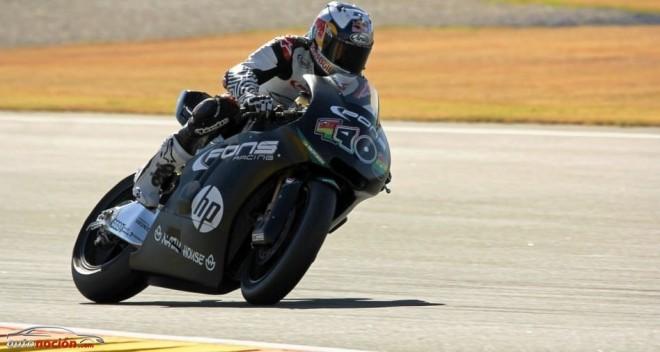 Última jornada de Test en Valencia de Moto2