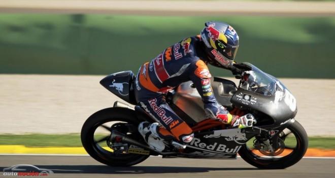 Última jornada de Test en Valencia de Moto3