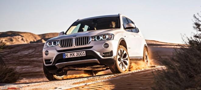 Este es el nuevo aspecto del BMW X3: Un lavado de cara, retoques tecnológicos y puesta a punto de las motorizaciones