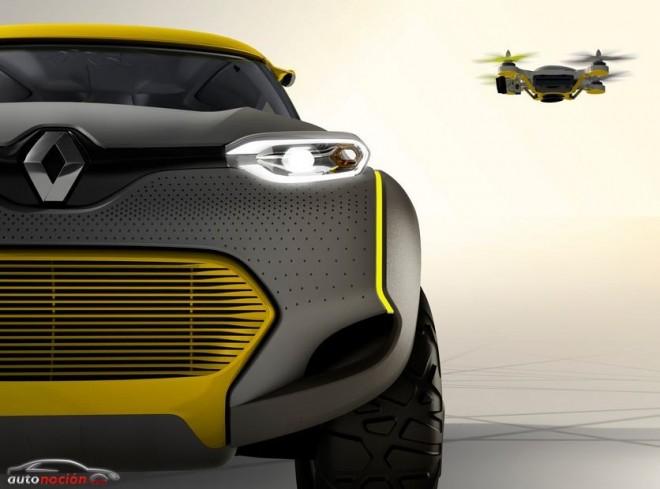 Renault nos muestra el Concept KWID: ¡Ojo, que viene con un cuadricóptero!