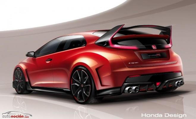 Honda nos muestra un poco más del Civic Type -R Concept antes de su debut